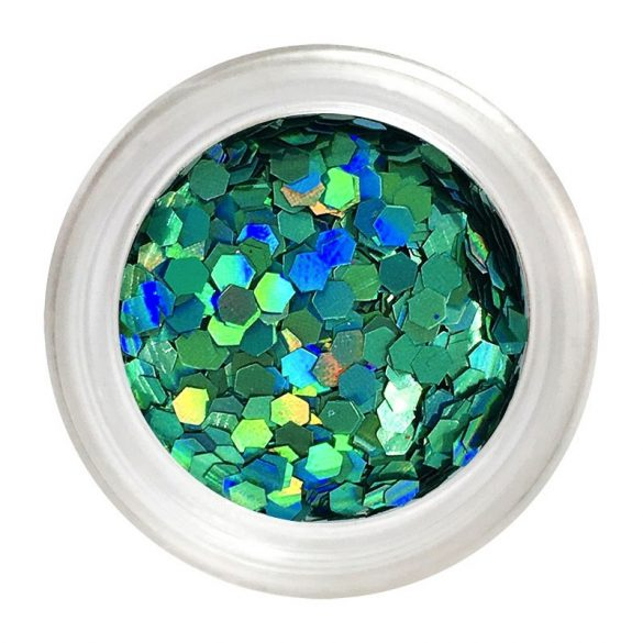 Small turquoise nail art flitter (*)