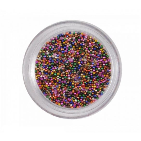Multicolor nail art beads