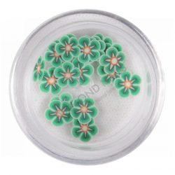 Rubber nail flower - Green