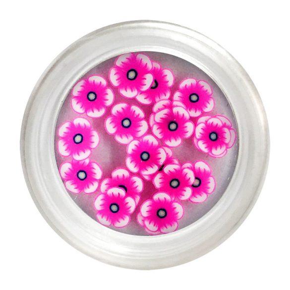 Rubber Nail Art Flower - Cyclamen