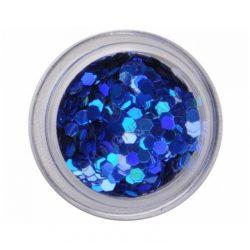 M. Hologramm flitter-Dark Blue