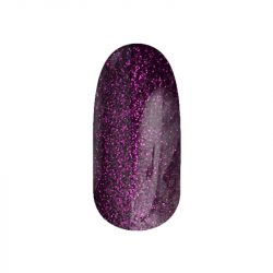 Gel Nail Polish - DN100 - Purple Glitter