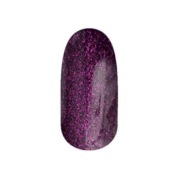 Gel Nail Polish - DN100 - Purple Glitter