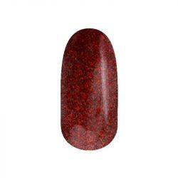 Gel Nail Polish - DN104 - Glittering Christmas Red