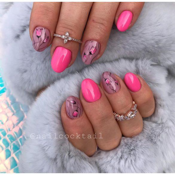 Gel Nail Polish - DN048 - Neon Pink