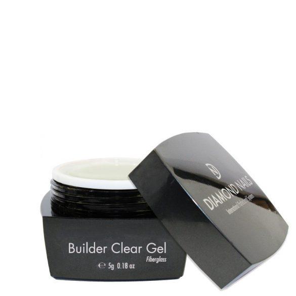 Builder Clear Fiberglass UV Nail Gel 5g