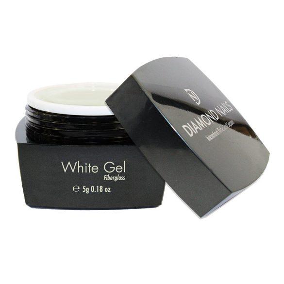 Fiberglass White UV Nail Gel 5g