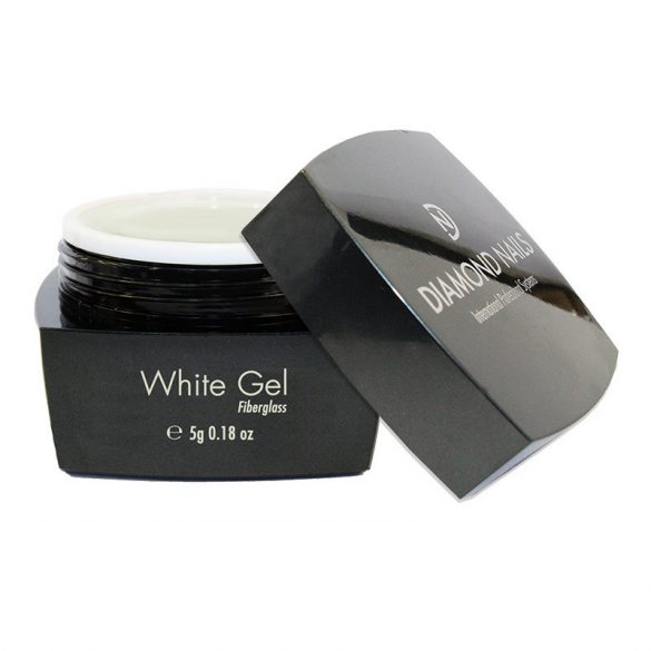 Fiberglass White UV Nail Gel 5g