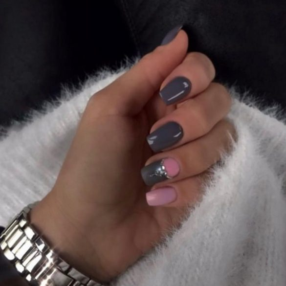 Gel Nail Polish - DN056 - Dark Grey