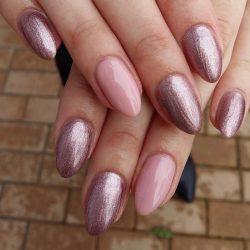 Gel Nail Polish - DN072 - Metalic Light Lilac