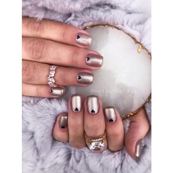 Gel Nail Polish - DN073 - Metalic Chrome