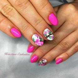 Gel Nail Polish - DN090 - Precious Rose
