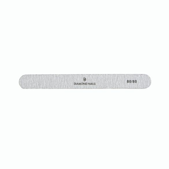 Straight nail file grey 80/80