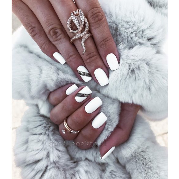 One Step Gel Nail Polish - OS001 - White