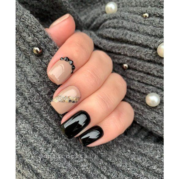 One Step Gel Nail Polish - OS002 - Black