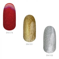 Gel Polish 3pcs Glitter Set
