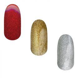 Gel Polish 3pcs Glitter Set