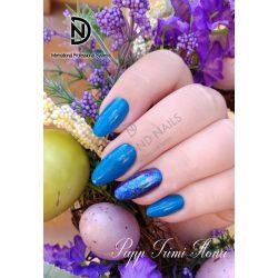 Gel Nail Polish - DN141 - Shimmering Dark Turquise