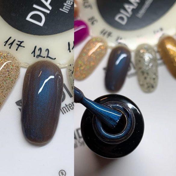Gel Nail Polish - DN122 - Blue Chrome
