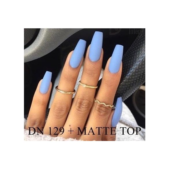Gel Nail Polish - DN129 - Crystal Blue