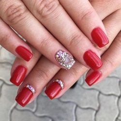 Gel Nail Polish - DN132 - Dark Red