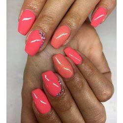 Gel Nail Polish - DN138 - Shimmering Rosé