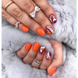 Gel Nail Polish - DN150 - Brilliant Orange