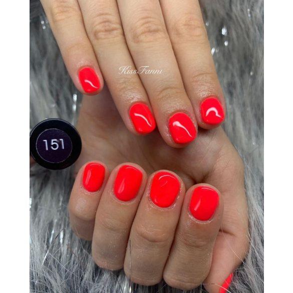 Gel Nail Polish - DN151 - Neon Coral