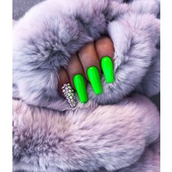 Gel Nail Polish - DN153 - Neon Green