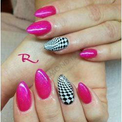 Gel Nail Polish - DN162 - Shimmering Bikini Pink