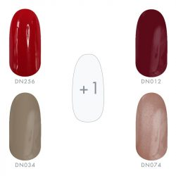 Gel Nail Polish - Autumn Colours set 4+1 pcs