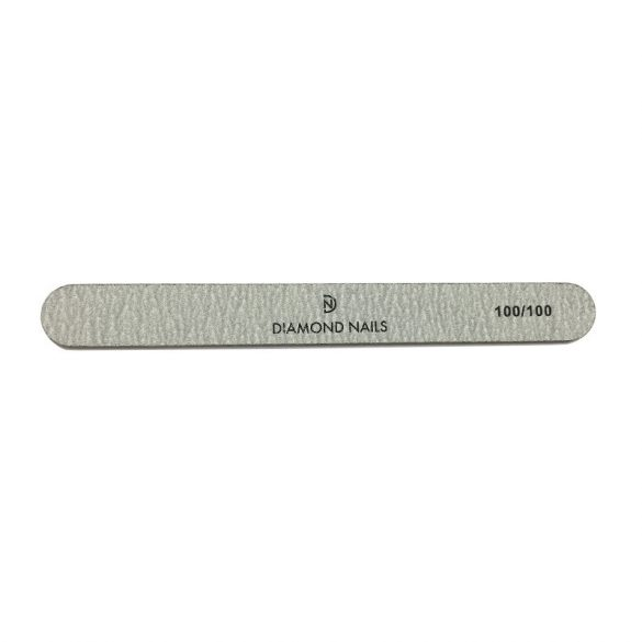 Straight nail file grey 100/100
