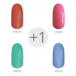 Gel Nail Polish - Spring Colours set 4+1 pcs