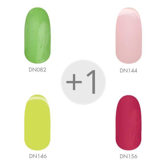 Gel Nail Polish - Spring Colours set 4+1 pcs II