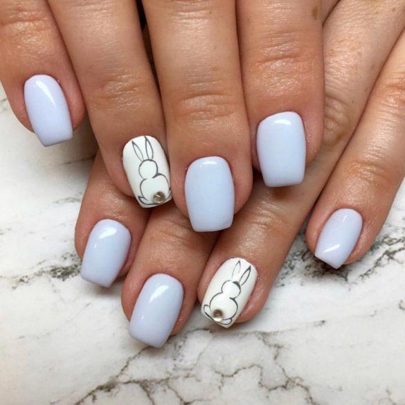 Gel Nail Polish - DN188 - Bleached Blue