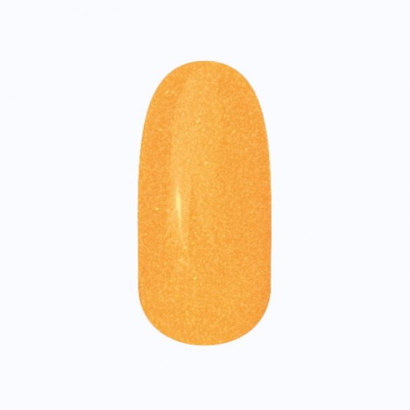 Gel Nail Polish - DN190 - Youthful Orange (shimmering)