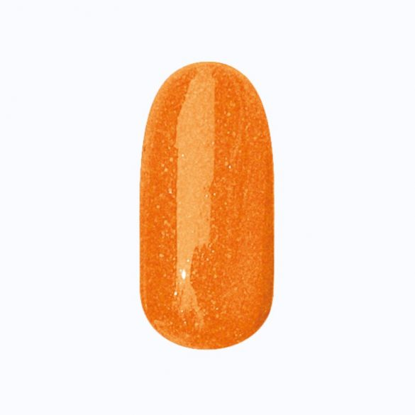 Gel Nail Polish - DN191 - Lush Orange (shimmering)