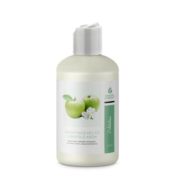 Hand and foot cream - Green apple 500ml