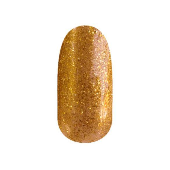 Gel Nail Polish - DN118 - Glittering Gold Ocher