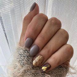 Gel Nail Polish DN205 - Taupe Grey