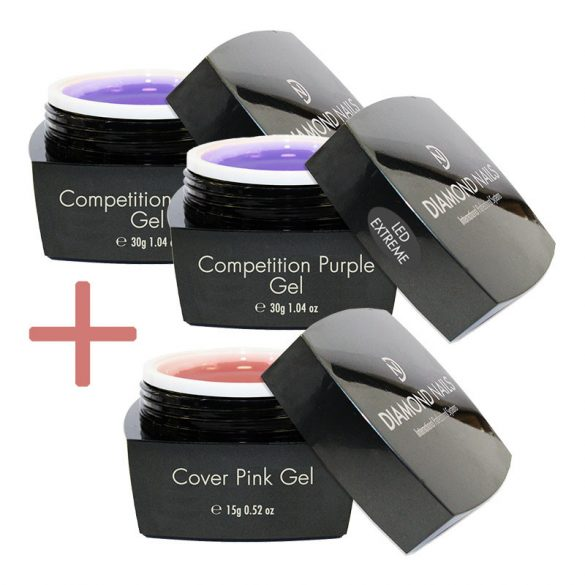 Extreme LED Competition Purple Gel with gift
