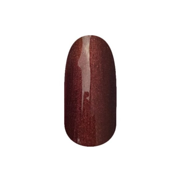 Gel Nail Polish DN206 - Chocolate Brown (pearl)