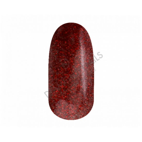 Gel Nail Polish 4 ml DN104 - Glittering Christmas Red