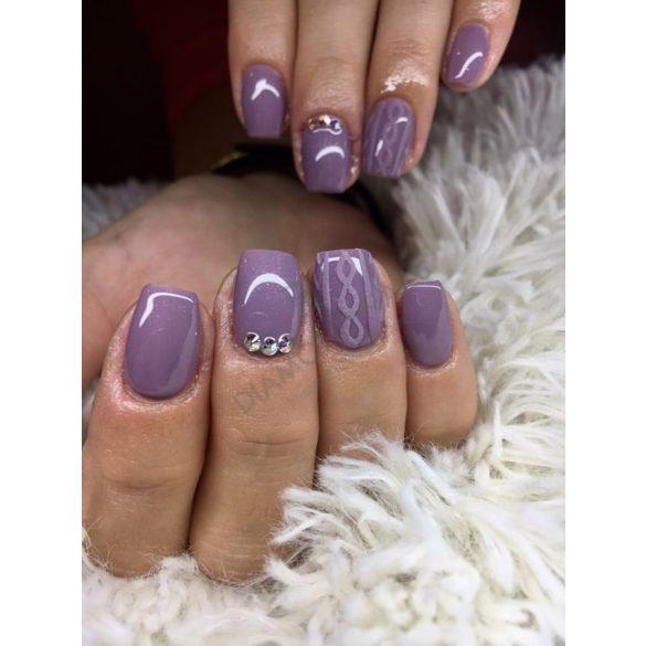 Gel Nail Polish 4 ml - DN126 - Purple Nude