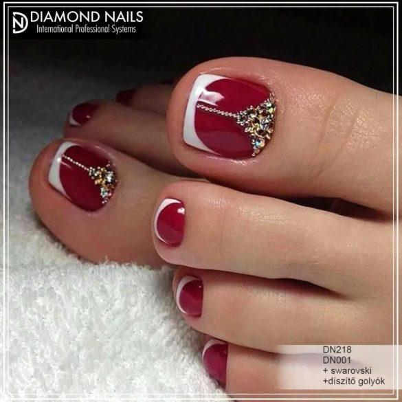 Gel Nail Polish - DN218 - Red Pepper