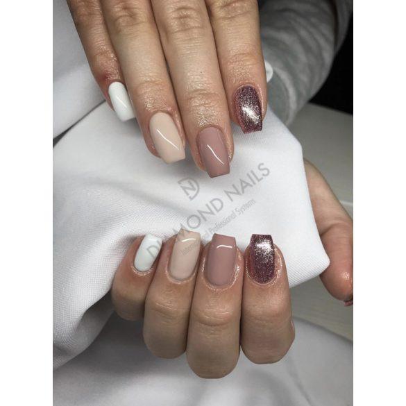 Gel Nail Polish - 4 ml - DN074 - Metalic Rosegold