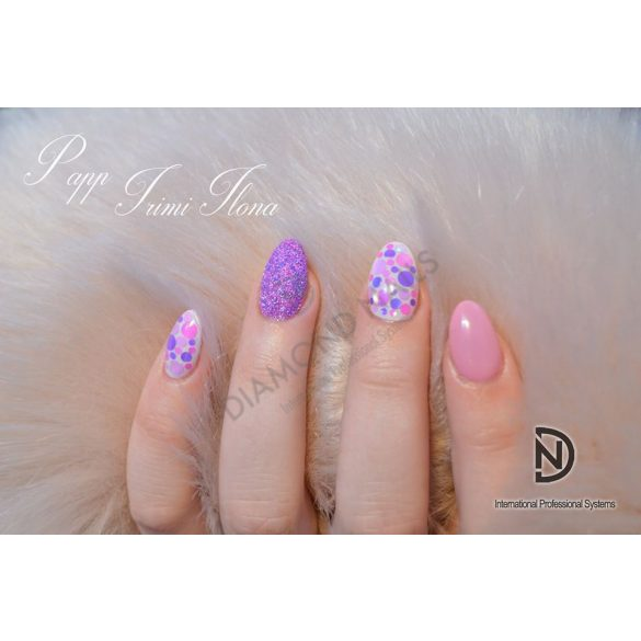 Gel Nail Polish - 4 ml - DN098 - Rose Powder