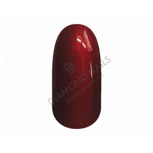 Gel Nail Polish 4 ml - DN168 - Red Wine (metallic)