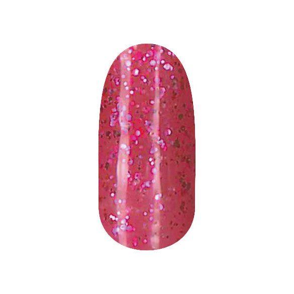 Gel Nail Polish 4 ml - DN225 - Shimmering Pink (big glitters)