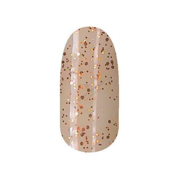 Gel Nail Polish 4 ml - DN226 - Shimmering Gold (big glitters)